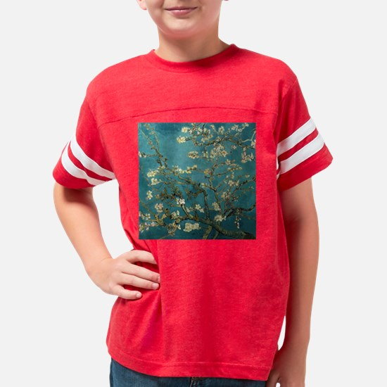 Almond Branches in Bloom 2sc Youth Football Shirt