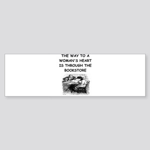 BOOKS18 Bumper Sticker