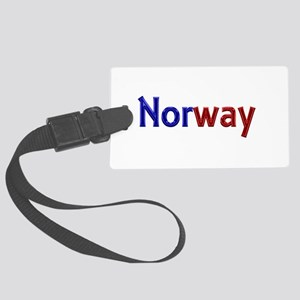 Norway Large Luggage Tag