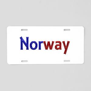 Norway Aluminum License Plate