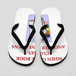 BOOKS13 Flip Flops