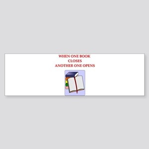 BOOKS13 Bumper Sticker