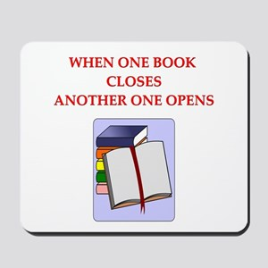 BOOKS13 Mousepad