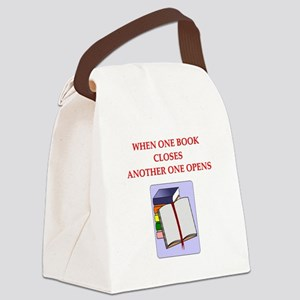 BOOKS13 Canvas Lunch Bag