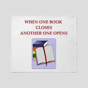 BOOKS13 Throw Blanket