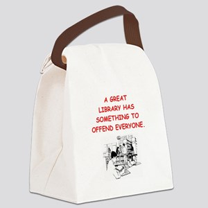 BOOKS12 Canvas Lunch Bag