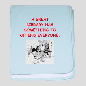 BOOKS12 baby blanket