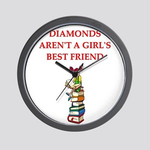 BOOKS11 Wall Clock