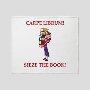 BOOKS14 Throw Blanket