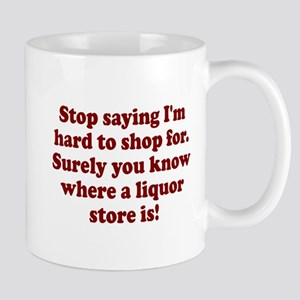 Know where liquor store is Mug