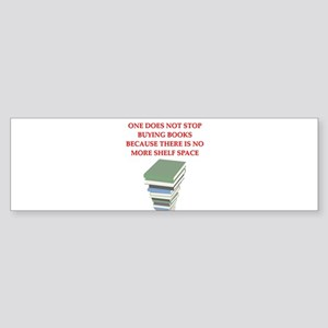 BOOKS8 Bumper Sticker