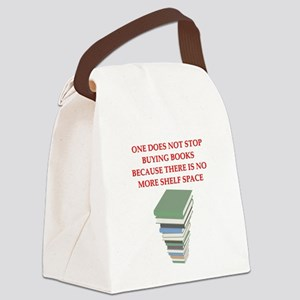 BOOKS8 Canvas Lunch Bag
