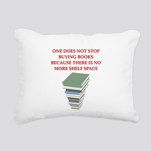 BOOKS8 Rectangular Canvas Pillow