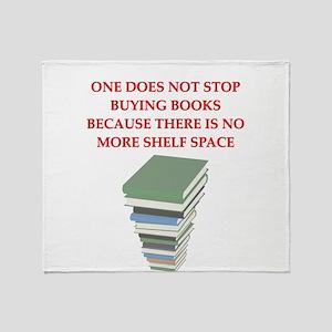 BOOKS8 Throw Blanket