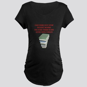 BOOKS8 Maternity T-Shirt