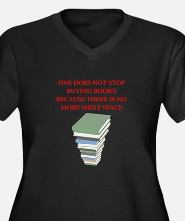 BOOKS8 Plus Size T-Shirt