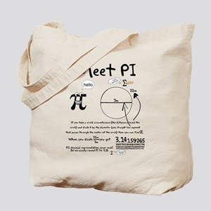 Meet Pi Tote Bag