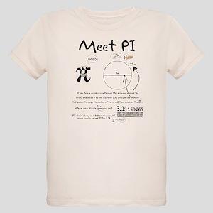 Meet Pi Organic Kids T-Shirt