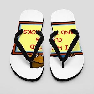 BOOKS4 Flip Flops