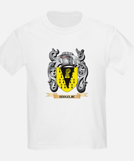Hanzlik Coat of Arms - Family Crest T-Shirt