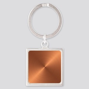 Copper Square Keychain