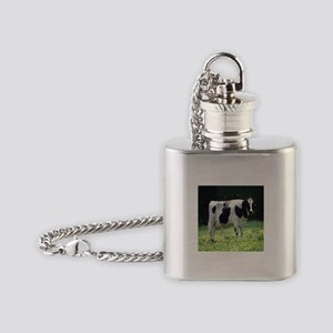 Holstein Meadow Flask Necklace