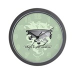 What's In Your Cauldron? Wall Clock