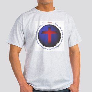 John 3:16 Light T-Shirt