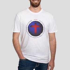 John 3:16 Fitted T-Shirt