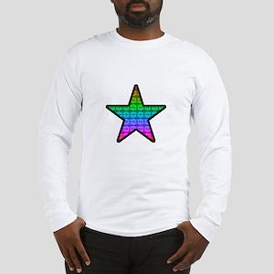 Rainbow Star Long Sleeve T-Shirt
