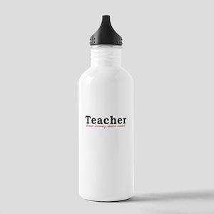Teacher. Dreamer. Visionary. Idealist. Achiever. S