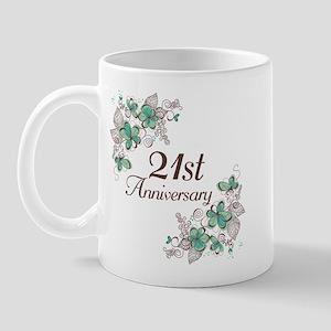 21st Anniversary Keepsake Mug