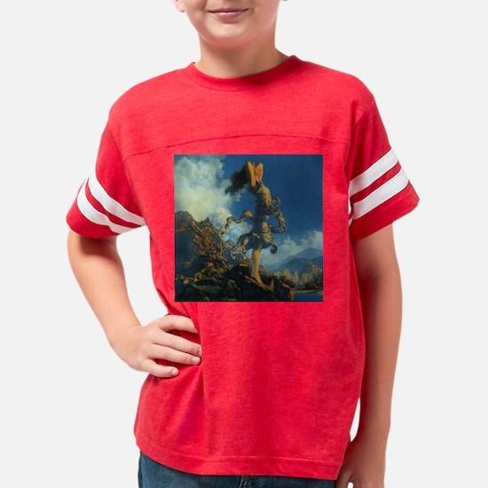 ecstasy for tile Youth Football Shirt