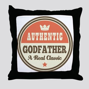 Classic Godfather Throw Pillow