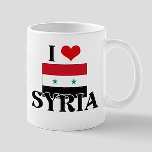 I HEART SYRIA FLAG Mug