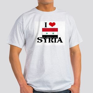 I HEART SYRIA FLAG T-Shirt