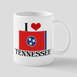 I HEART TENNESSEE FLAG Mug