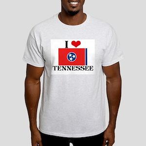 I HEART TENNESSEE FLAG T-Shirt