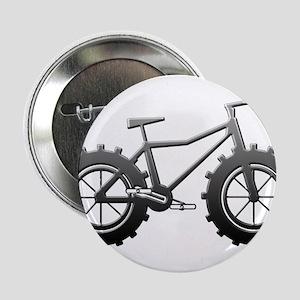 """Chrome Fatbike logo 2.25"""" Button"""