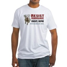 Resist Ignorance Fitted T-Shirt