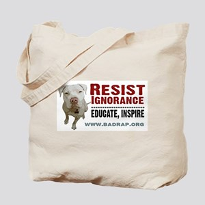 Resist Ignorance Tote Bag