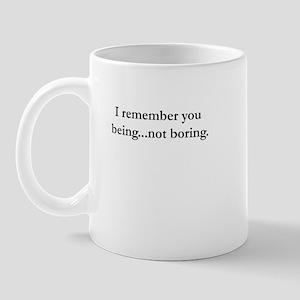 Not Boring Mug