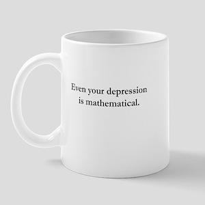 Depressing Math Mug