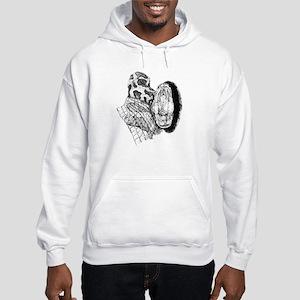 Burmese Python Hooded Sweatshirt