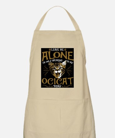 Cute Ocicat cat Light Apron