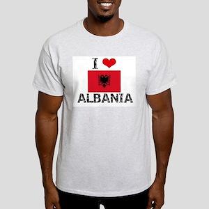 I HEART ALBANIA FLAG T-Shirt