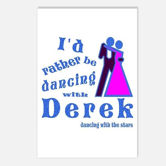 Dancing With Derek Postcards (Package of 8)