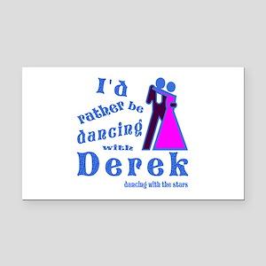 Dancing With Derek Rectangle Car Magnet