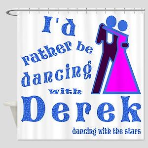 Dancing With Derek Shower Curtain