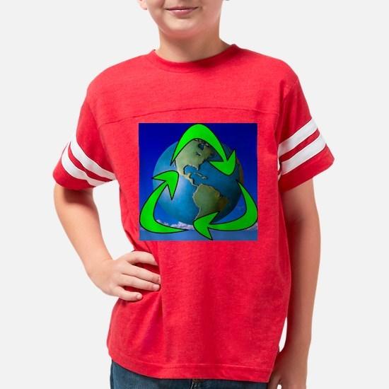 RecycleEarth Youth Football Shirt